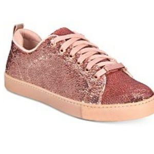 Aldo size.8.5 Pink Glitter sneaker